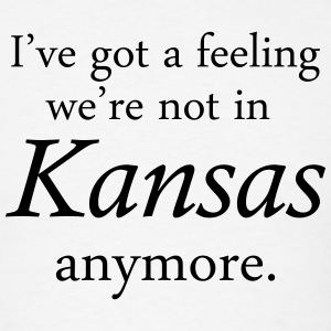 I've got a feeling we're not in Kansas anymore. T-Shirts - Men's T-Shirt