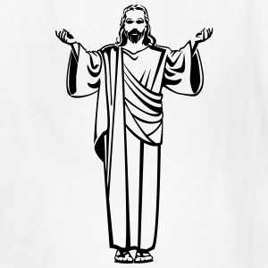 Jesus Praying (Prayer) Kids' Shirts - Kids' T-Shirt