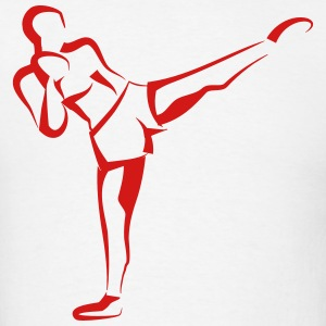 Kick Boxer (Kickboxing) T-Shirts - Men's T-Shirt
