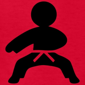 Karate (Stickman / Stickfigure) Kids' Shirts - Kids' T-Shirt