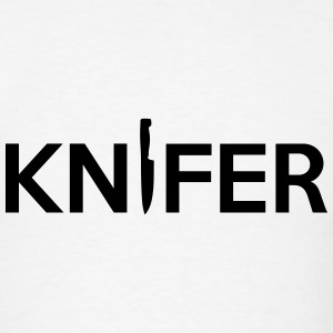 Knifer (Knife Symbol) Game Art T-Shirts - Men's T-Shirt