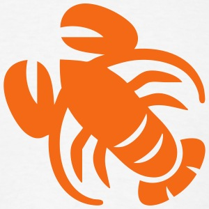Lobster Silhouette T-Shirts - Men's T-Shirt