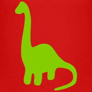 Long Neck Dinosaur Brachiosaurus Sauropod Baby & Toddler Shirts - Toddler Premium T-Shirt
