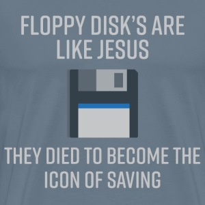 Floppy Disk's - Men's Premium T-Shirt