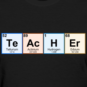 Periodic Table Chemistry Teacher - Women's T-Shirt