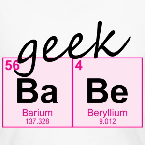 Periodic Table Geek BaBe - Women's Long Sleeve Jersey T-Shirt