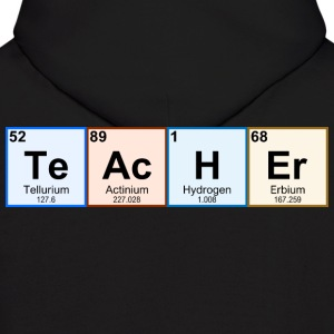 Periodic Table Chemistry Teacher - Men's Hoodie