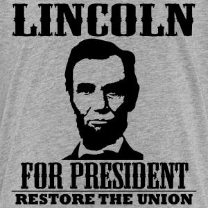 Lincoln for President Baby & Toddler Shirts - Toddler Premium T-Shirt