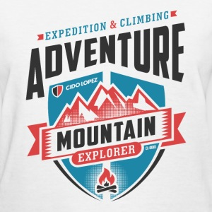 Adventure Mountain Graphic Art - Women's T-Shirt
