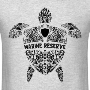 Marine Turtle Graphic Art - Men's T-Shirt