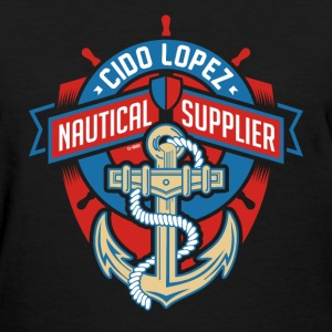 Nautical Supplier Graphic Art - Women's T-Shirt