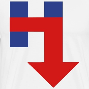 Anti Hillary - Men's Premium T-Shirt