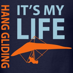 hang gliding - Men's T-Shirt