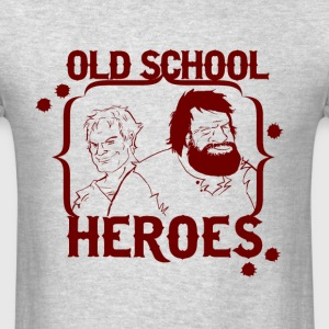 OLD SCHOOL HEROES - Men's T-Shirt