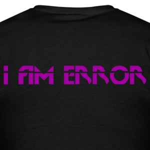 I Am Error Back Logo Tee - Men's T-Shirt