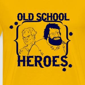 OLD SCHOOL HEROES - Men's Premium T-Shirt