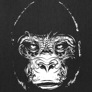 Head of a gorilla Bags & backpacks - Tote Bag