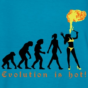 evolution_female_fire_artist_072016_c_3c Kids' Shirts - Kids' T-Shirt