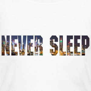 Never Sleep Long Sleeved Tshirts - Women's Long Sleeve Jersey T-Shirt