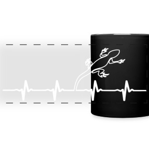 Lizard Owners Heartbeat Mug - Full Color Panoramic Mug