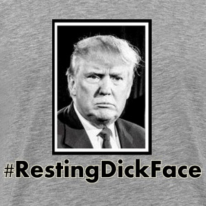 Trump: Resting Dick Face - Men's Premium T-Shirt