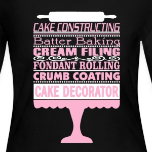 Cake Decorator Shirt - Women's Long Sleeve Jersey T-Shirt