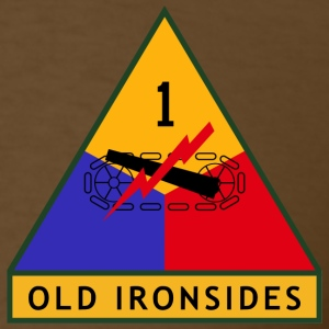 1st Armored Division Men's Shirt - Men's T-Shirt