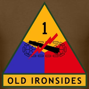 1st Armored Division Men's T - Men's T-Shirt