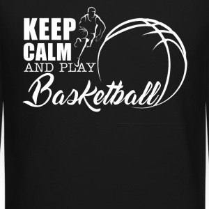 Keep Calm Play Basketball - Crewneck Sweatshirt