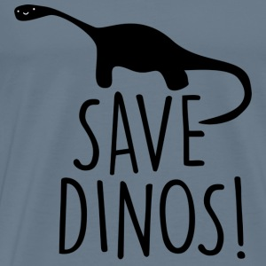 Save Dinos! - Men's Premium T-Shirt