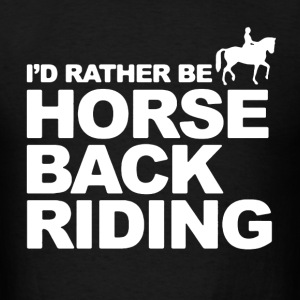 Horseback Riding Shirt - Men's T-Shirt