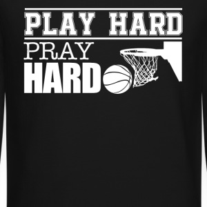 Play Hard Pray Hard Basketball - Crewneck Sweatshirt