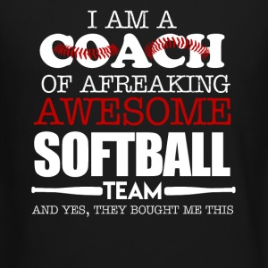 Softball Coach Shirts - Crewneck Sweatshirt