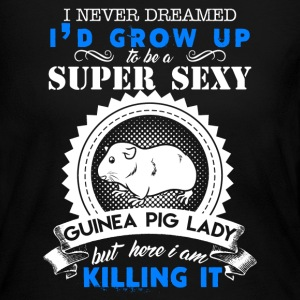 Sexy Guinea Pig Lady - Women's Long Sleeve Jersey T-Shirt