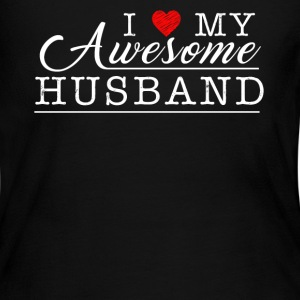I Love My Awesome Husband - Women's Long Sleeve Jersey T-Shirt