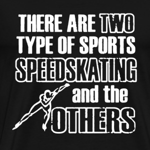 Speedskating Shirt - Men's Premium T-Shirt