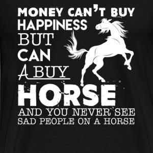 Horse And Happiness - Men's Premium T-Shirt
