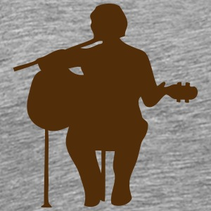 guitarist figure 2 T-Shirts - Men's Premium T-Shirt