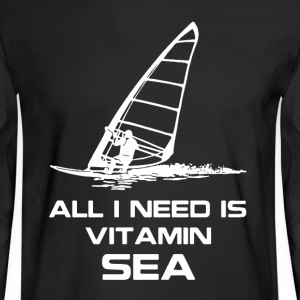 Windsurfing Shirt - Men's Long Sleeve T-Shirt