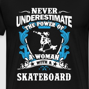 Skateboard Shirt - Men's Premium T-Shirt