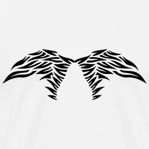 wing winged angel 50269 T-Shirts - Men's Premium T-Shirt