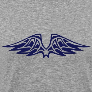 wing winged angel 50266 T-Shirts - Men's Premium T-Shirt