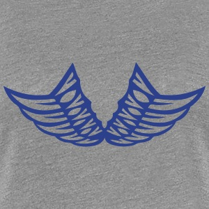 wing winged angel 5006 T-Shirts - Women's Premium T-Shirt