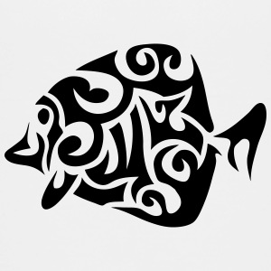 exotic fish tribal 502 Kids' Shirts - Kids' Premium T-Shirt