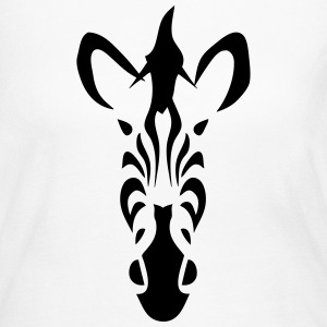 tribal zebra 502 Long Sleeve Shirts - Women's Long Sleeve Jersey T-Shirt