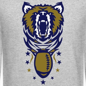 bears american football club logo Long Sleeve Shirts - Crewneck Sweatshirt