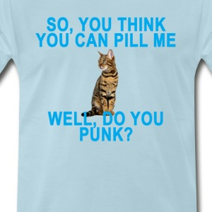 pill_me_punk_cat_tshirt_ - Men's Premium T-Shirt