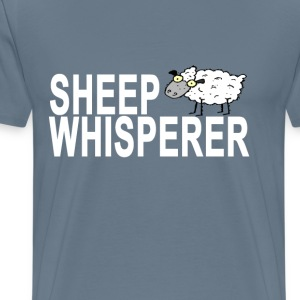 sheep_whisperer_tshirt - Men's Premium T-Shirt