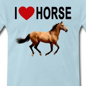 i_love_horse_ - Men's Premium T-Shirt