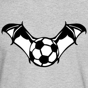 soccer ball bat wing logo Long Sleeve Shirts - Men's Long Sleeve T-Shirt
